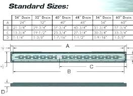 Drain Pipe Sizing Chart Sewer Pipe Sizes Shower