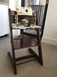 stokke tripp trapp high chair with tripp trapp baby set and cushion