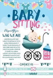 Babysitting Templates Flyers Free Babysitting Flyers Magdalene Project Org