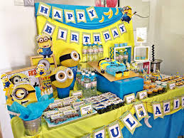 Minion Birthday Party Minion Birthday Party Decorations 4 Best Birthday Resource Gallery