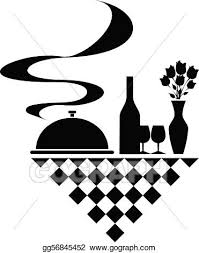 Catering Clipart Vector Art Catering Vector Silhouettes Eps Clipart