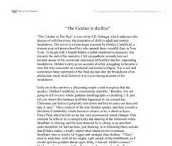 the catcher in the rye essays egg in a bottle science fair the catcher in the rye essay essay