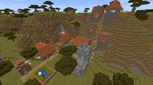 Minecraft Village Seeds Pick A Village Any Village Four Villages And A Mineshaft