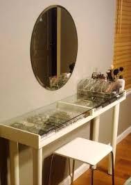 awesome diy makeup vanity black it white ikea vanities vanities tables awesome diy makeup