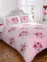 vintage fl pink luxury duvet cover