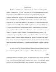 speech ethical decision making essay torres nicholas 4 pages ethics essay