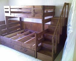 Full Size of :trendy Bunk Beds With Stairs Bed White Staircase Boy Diy  Plans Used ...