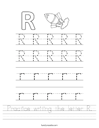 letters practice sheet practice writing the letter r worksheet twisty noodle