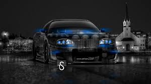 toyota supra tuning crystal car