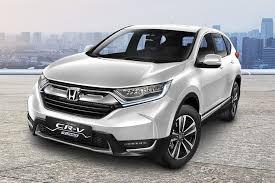 Honda CRV White Orchid Pearl