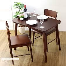 3 piece dining table set rondo rondo s width 90 x 60 cm