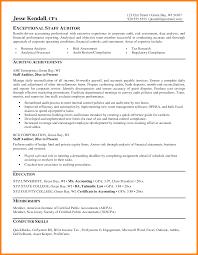 Audit Resume Examples Senior Sample Associate Manager Samples