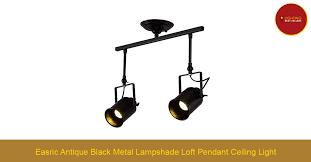 easric antique black metal lampshade loft pendant ceiling light lighting best ers