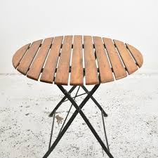 vintage german round patio table
