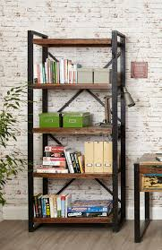 sditch large open bookcase reclaimed wood