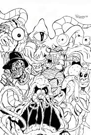 Small Picture Coloring Download Ghostbuster Coloring Pages Ghostbuster Coloring