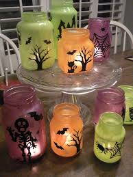 Decorate Jar Candles 100 Great Halloween Crafts Made From Recycled Materials Halloween 45