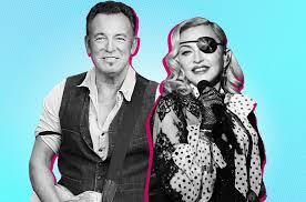Madonna Bruce Springsteen Are Nos 1 2 On Billboard 200