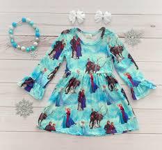Rylee Faith Designs Frozen Boutique Dress