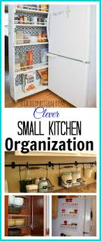 Kitchen Organizing Ideas For Organizing A Small Kitchen