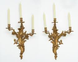 2 antique french louis xv rococo xvii
