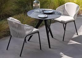 Manutti radius garden dining chair