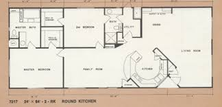 double wide floor plans. Manufactured Home Floor Plans-1976 Bendix Mobile Plan Double Wide Plans M