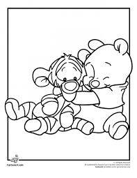 coloring pages baby disney princesses free coloring sheets beautiful baby tigger drawing at getdrawings b4f of