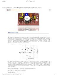 1km power fm transmitter inductor arduino Wiring Schematic Diagram 200m Fm Transmitter Simple Circuit Wiring Schematic Diagram 200m Fm Transmitter Simple Circuit #90