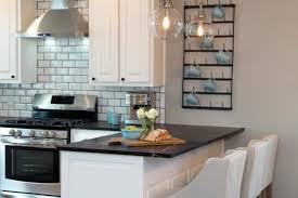 kitchen peninsula lighting. White Kitchen Peninsula Bar With Black Counter And Two Glass Ball Pendant Lights Lighting
