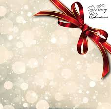 christmas cards backgrounds bow merry christmas cards vector 01 free download