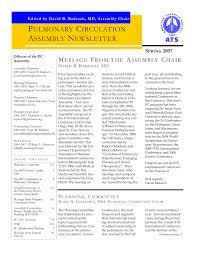 PC Newletter Spring 2007