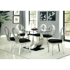 black glass dining table set small dining table set contemporary silver and black dining table set round black glass dining black glass dining table