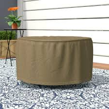 round side table covers basics round patio ottoman or side table cover outside table covers round round side table covers