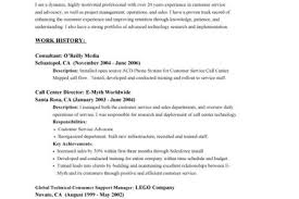 good customer service objective for resume a good customer service resume