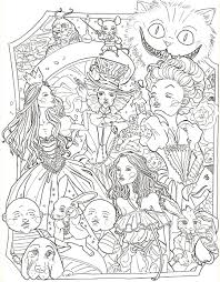 Small Picture Coloring Pages Alice In Wonderland 2010PagesPrintable Coloring