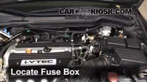 how to add refrigerant to a 2003 2007 honda accord 2006 honda 2005 honda accord cigarette lighter fuse at Blown Fuse Box Honda Accord 2005