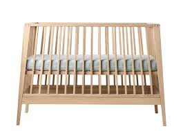 contemporary baby furniture. Linea Baby Cot Bed - Solid Oak Contemporary Furniture O