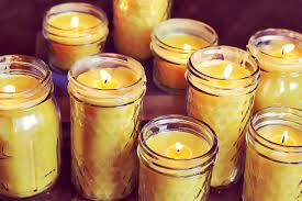 How-to-make-beeswax-scented-candles-at-home_making- Homemade Scented  Beeswax Candles