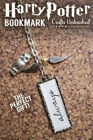 diy harry potter bookmark gifts