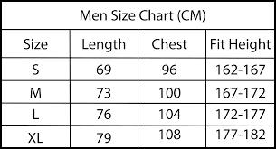 Size Chart Fabulousq Free U S Shipping