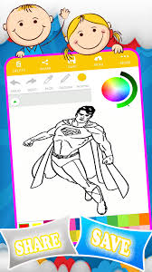 Coloring superman games is an app with all kinds of superman coloring pages, along with the saga's other characters and villains. Coloring Superman Games 1 0 4 Download Android Apk Aptoide