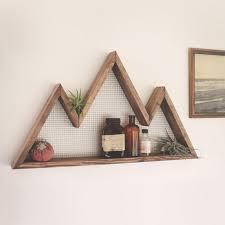 on wall art shelf with interior decorating mountain shelf by burl blade
