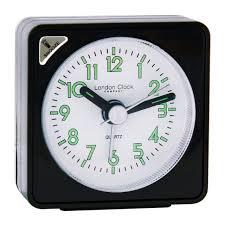 london clock company black square mini