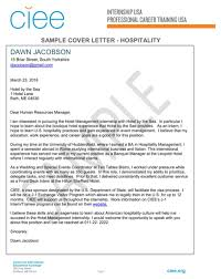 Leading Hotel  amp  Hospitality Cover Letter Examples  amp  Resources     happytom co
