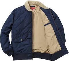 Supreme Quilted Nylon Tanker Jacket & Supreme Adamdwight.com