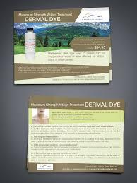 Postcard Design by raluca.b for Alpine Valley Naturals Dermal Dye - Design  #7951180