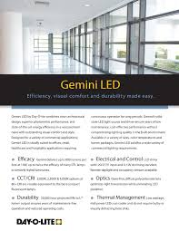 Dayolite Lighting Dol Gemini Bro Ver 7 Dayolite Com Pages 1 4 Text