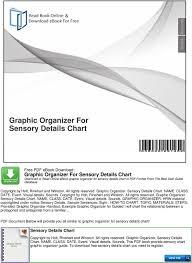 Graphic Organizer For Sensory Details Chart Pdf Free Download