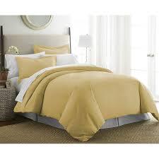 100 egyptian cotton gold single duvet cover set 137 x 200 cm with pillow cases thread count 200 soft cream cqdyxhajk